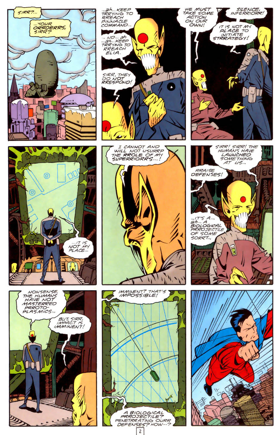 Legion of Super-Heroes (1989) 35 Page 2