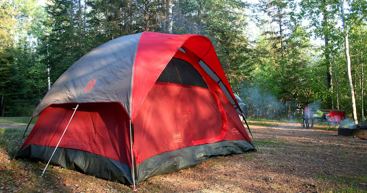 Camping on a budget with Coleman's Flatwoods II tent