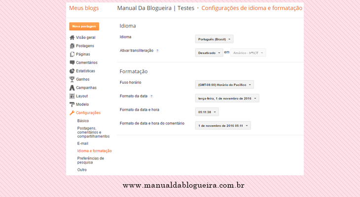 Guia do Blogger