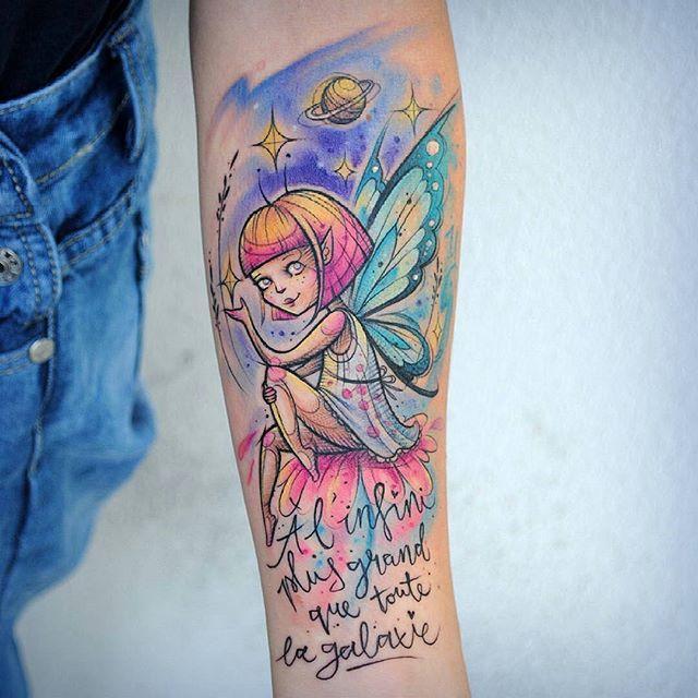 Tatuagens de fadas