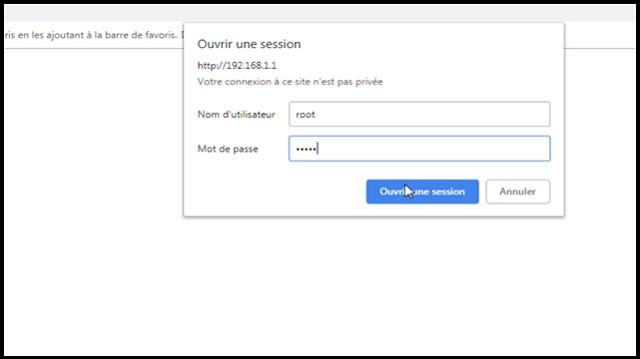 Comtrend CT-5361 login password