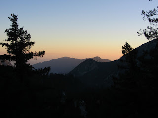 Dusk in San Antonio Canyon