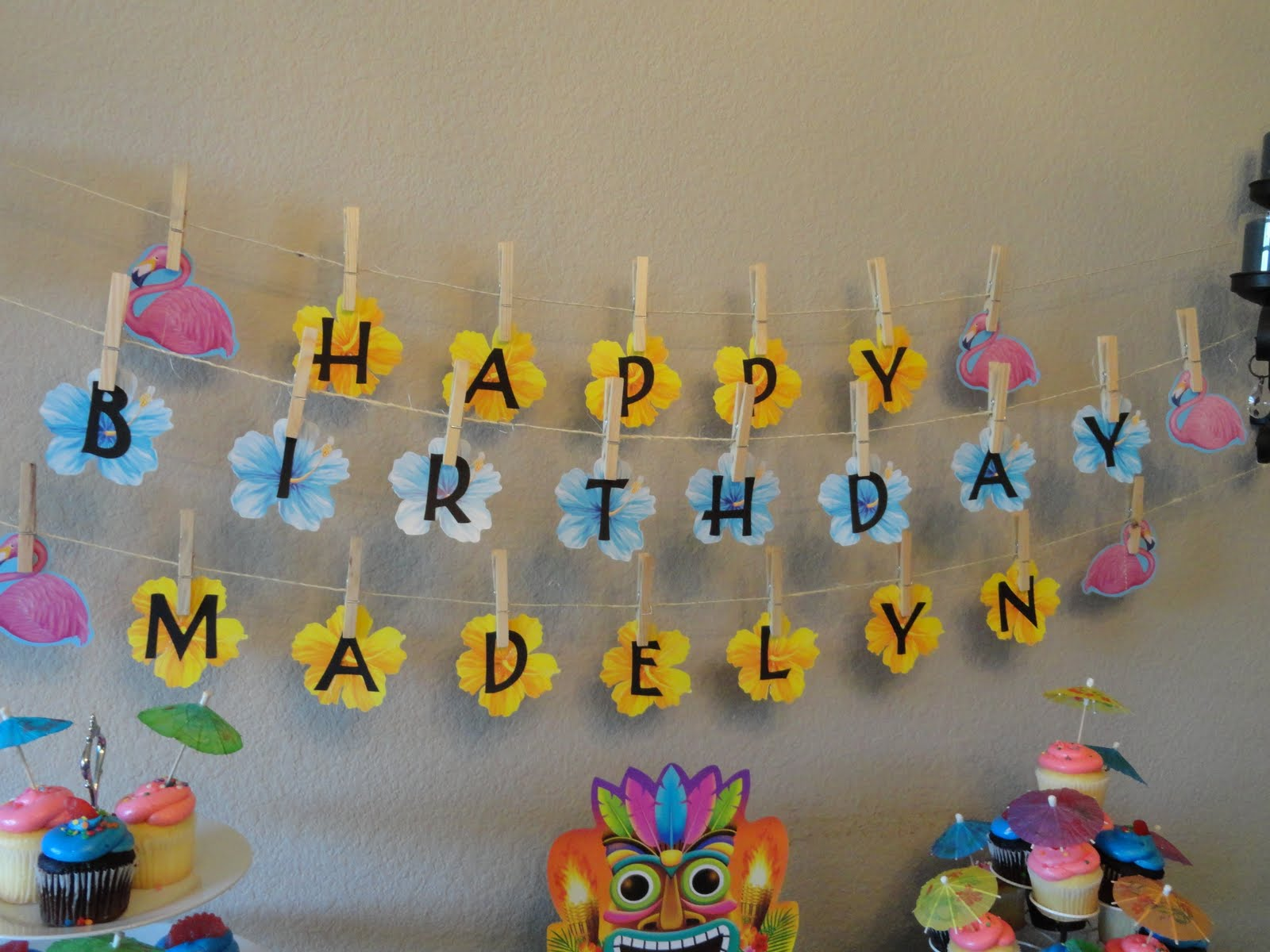 So I Saw This Tutorial Dollar Store Birthday Banner