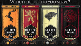 Game of Thrones slots - select your House