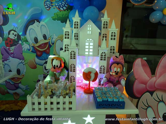 Decoração festa Baby Disney - Aniversário infantil