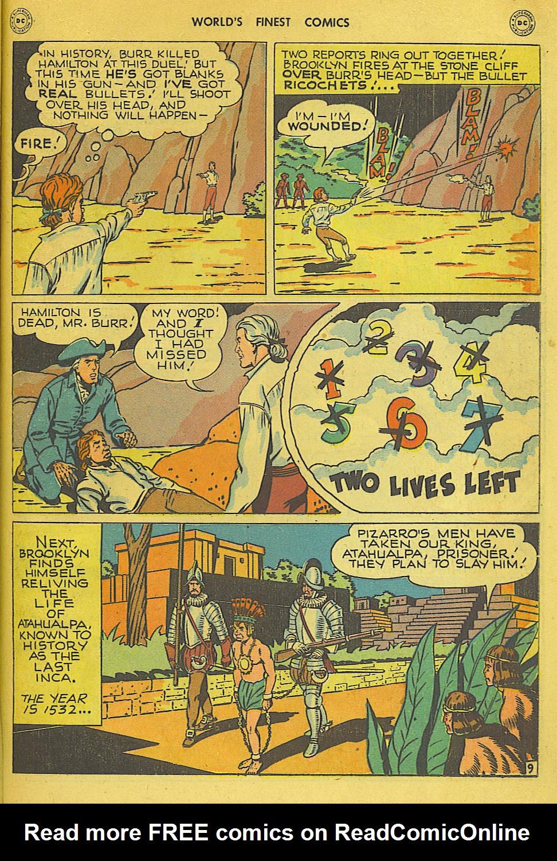 Read online World's Finest Comics comic -  Issue #34 - 35