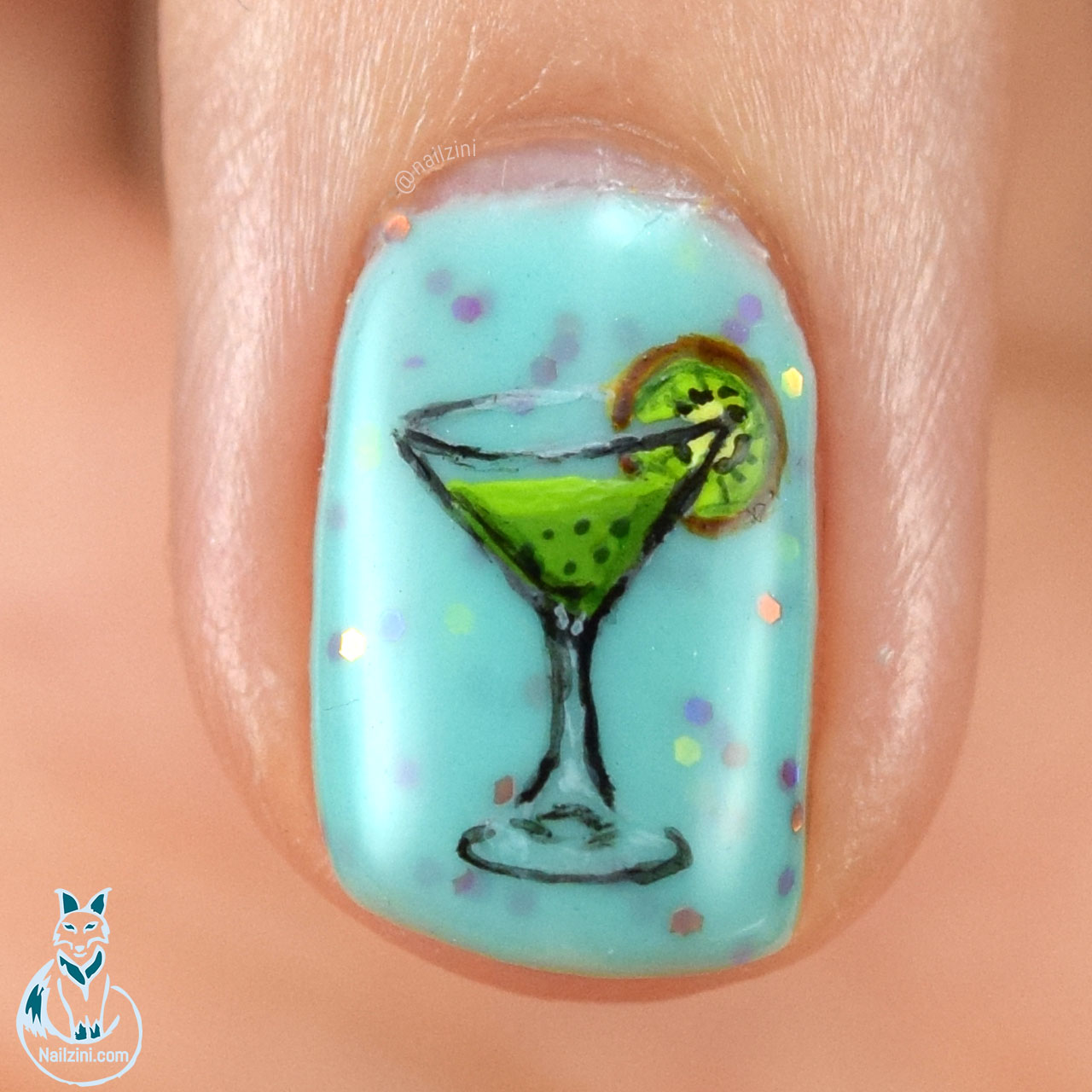 Kiwi Daiquiri Madam Glam Nailzini