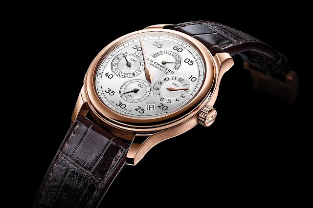 Chopard L.U.C Regulator Mechanical Hand-wound Watch