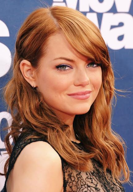 Emma Stone Hair Color