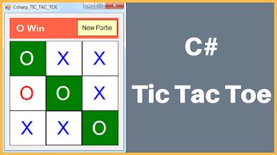 C# TIC-TAC-TOE