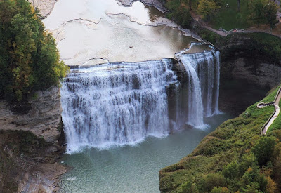 Middle falls - Letchworth State Park - USA
