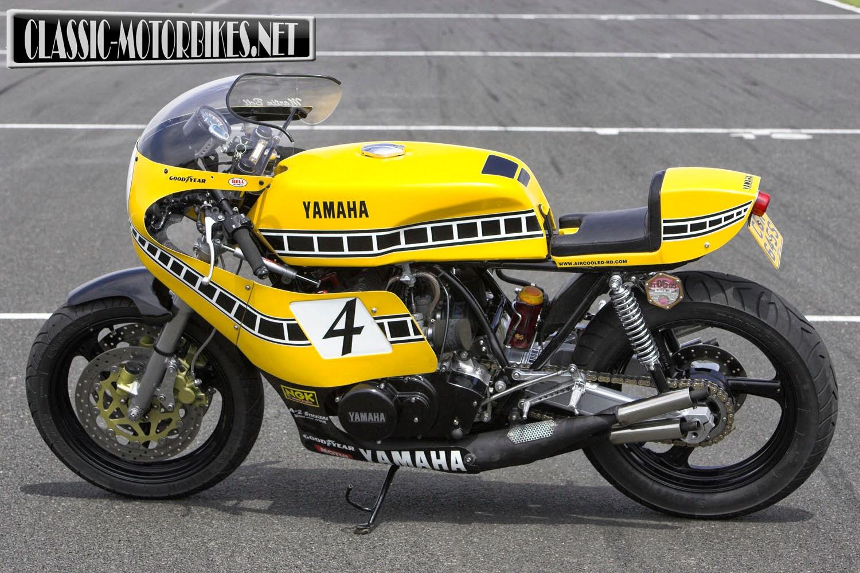 Racing Caf U00e8  Yamaha Rd 700 Special