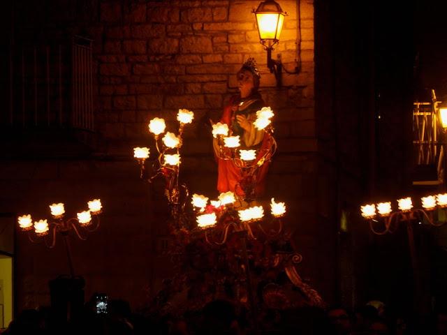 Folklore ruvese processione S. Lucia