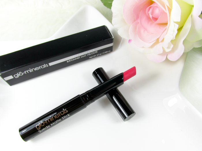 Review: glominerals - glo Suede Matte Stick Punch - 2,5g - 29.00 Euro
