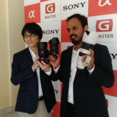 Sony full-frame lenses family get G Master Brand in Professional Range