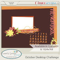 November 2016 Desktop Challenge by Laurie's Scraps & Designs