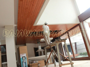 harga plafon kayu solid