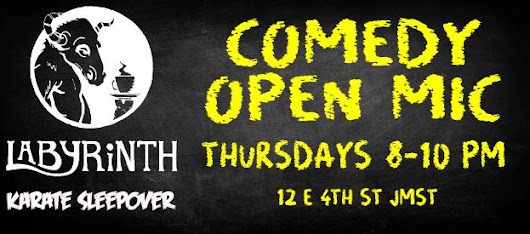 New Open Mic at Labyrinth!