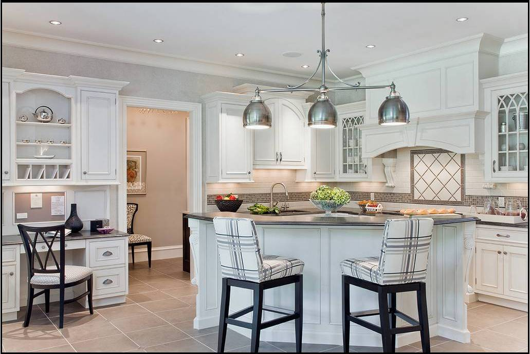 Hogares frescos dise os de cocinas estilo office for Disenos de cocinas comedor modernas