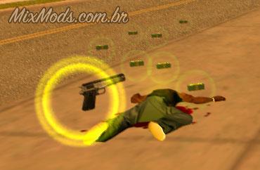 mod cleo pickups glow weapons corona gta vc iii
