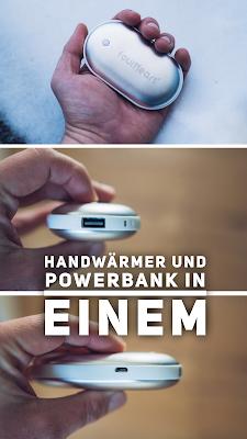 Gear of the Week #GOTW KW 10 | Handwärmer und Powerbank in Einem | USB-Handwärmer mit Powerbank | Mobile Wärme per Powerbank