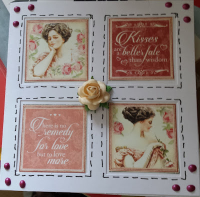 """Mon Amour Graphic 45 5"""" window card -"""