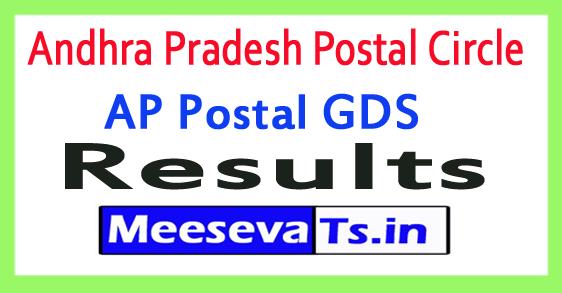 Andhra Pradesh Postal Circle Gramin Dak Sevak Results 2018