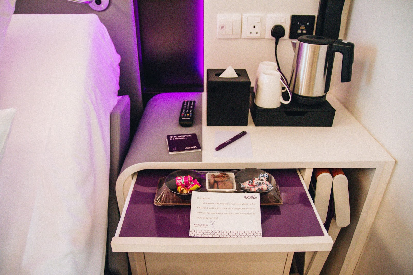 A Glimpse Into The Future: My Unique Stay With Robots At Yotel In Singapore