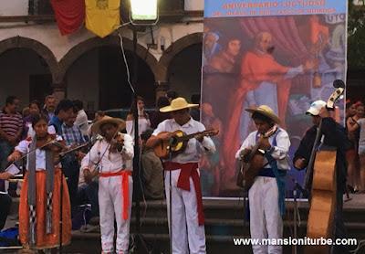 Homenaje a Don Vasco de Quiroga en Pátzcuaro