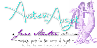 Jane Austen, Austen in August, blog event