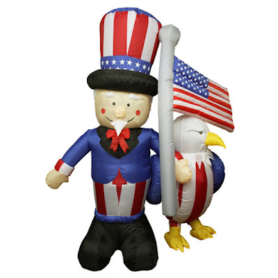 Enter the Standard Concession Supply 4th Of July Inflatable Giveaway. Ends 6/20