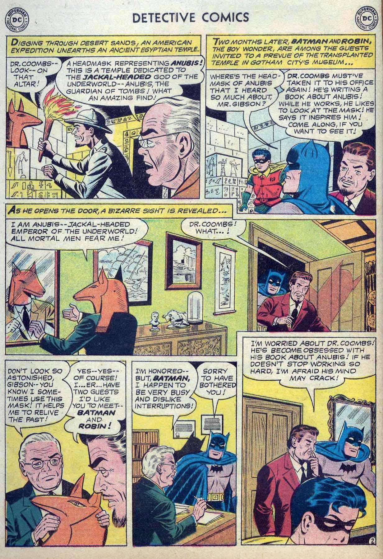 Read online Detective Comics (1937) comic -  Issue #262 - 4