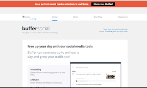 Buffer Blog offers highly-engaging contents