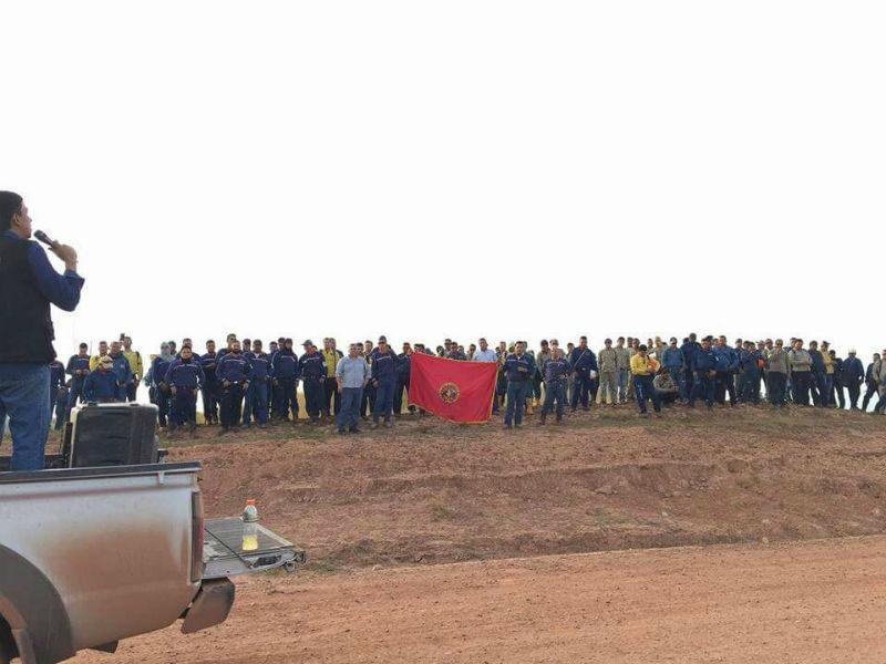 Trabajadores de Campo Rubiales completan una semana en protesta