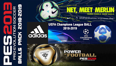 PES 2013 Ballpack Season 2018/2019