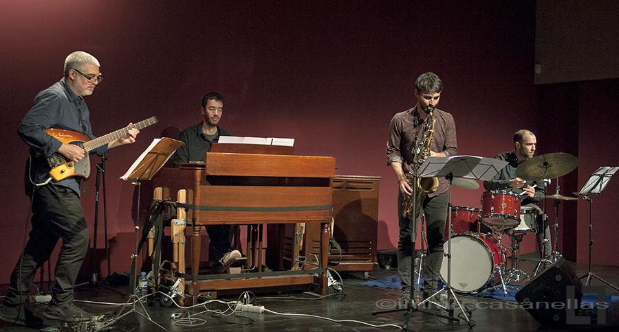 Txema Riera Quartet featuring Santi de la Rubia, Auditori Vinseum, Vilafranca del Penedès, 16-feb-2019