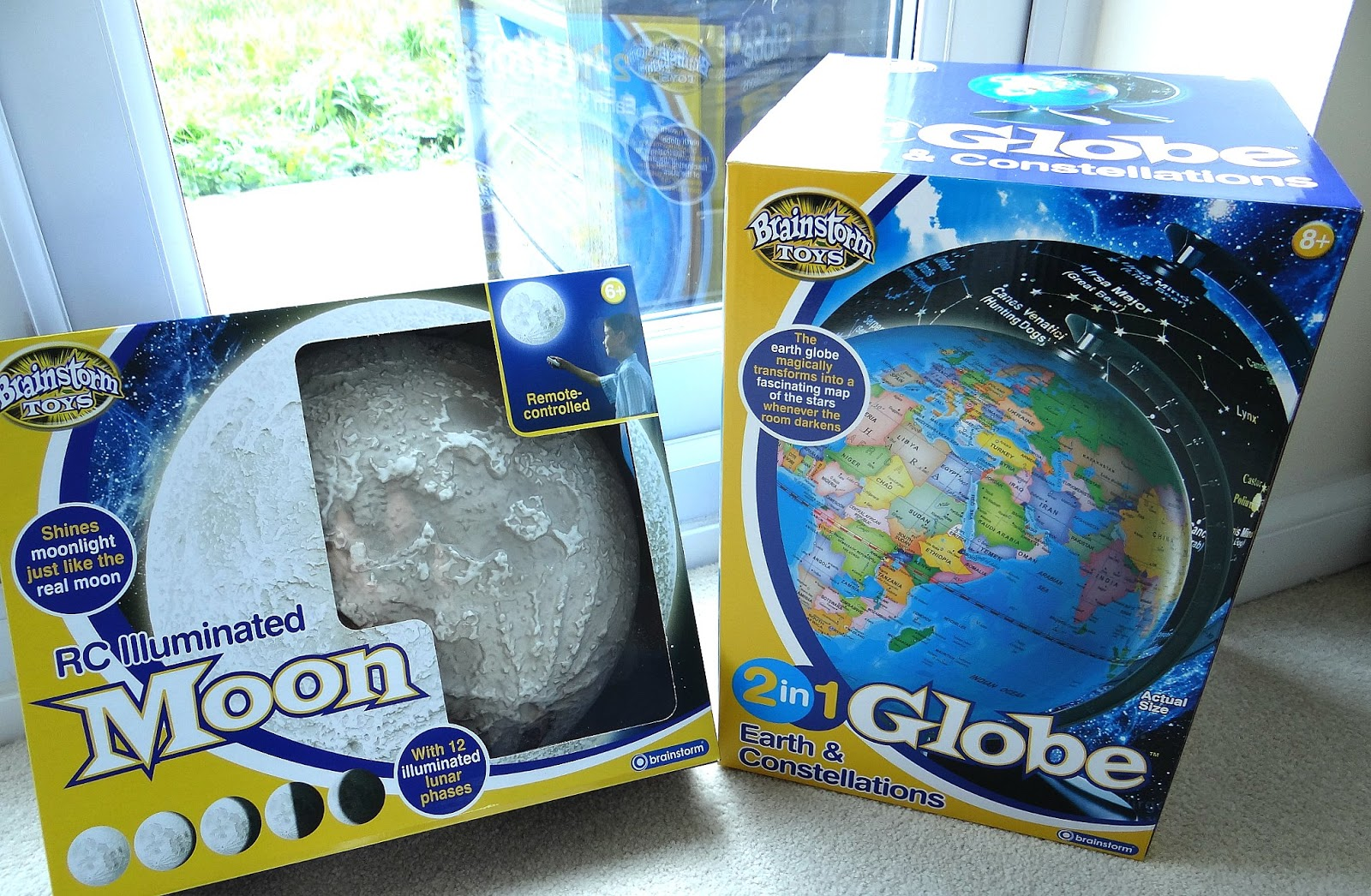 Brainstorm Toys, educational toy, 2 in 1 Globe Earth and Constellations