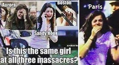 Heboh! Empat Foto Wanita yang Mirip Muncul di Berbagai Aksi Teror 73