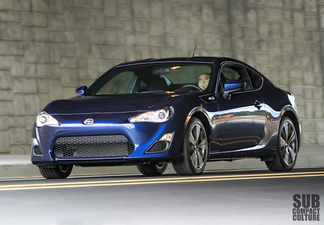 Driving the 2013 Scion FR-S
