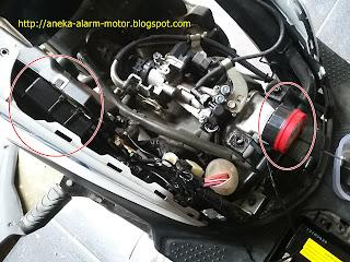 Cara pasang alarm motor pada Honda Beat ESP