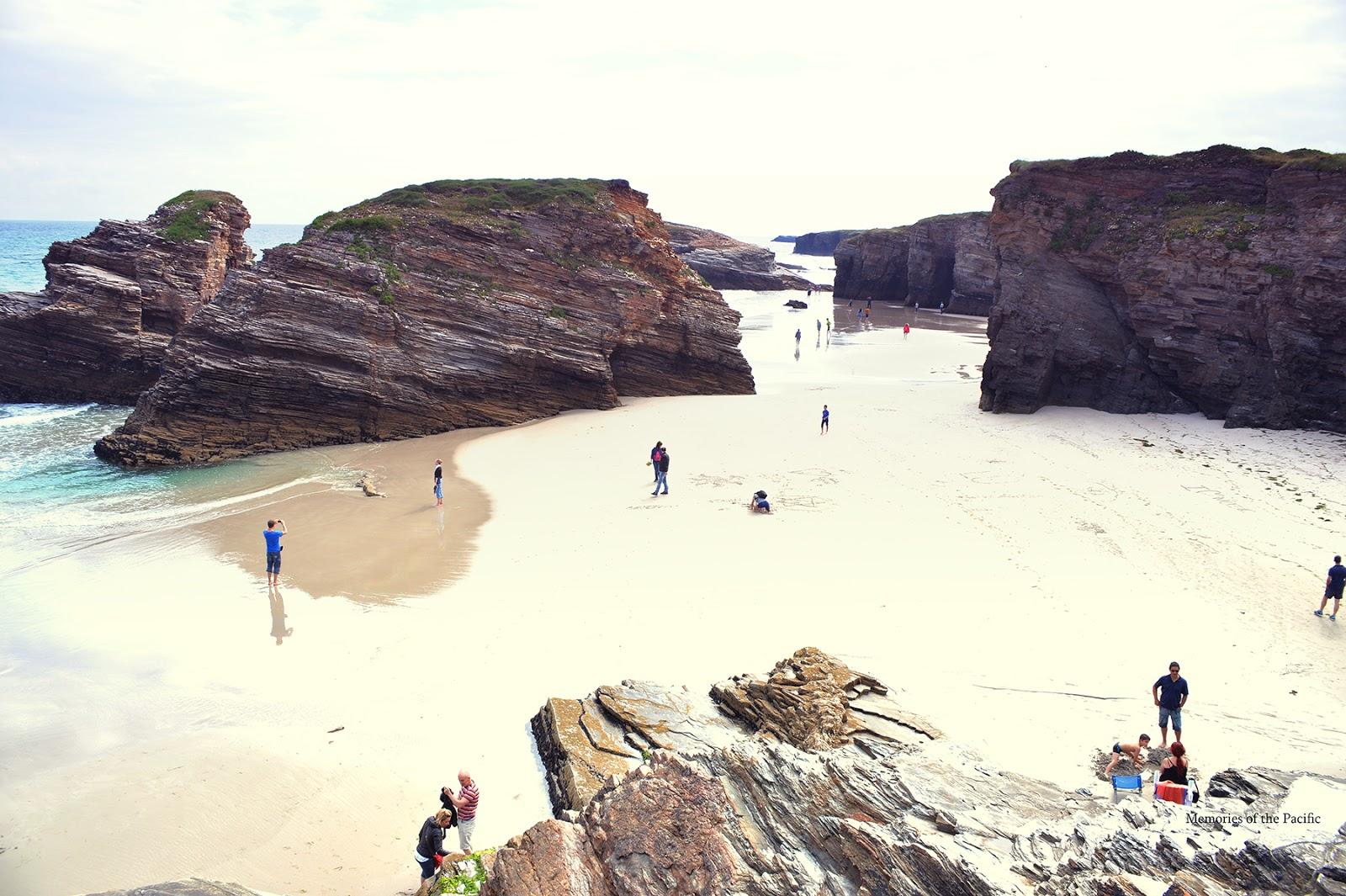 galicia españa spain playa de las catedrales beach of the cathedrals