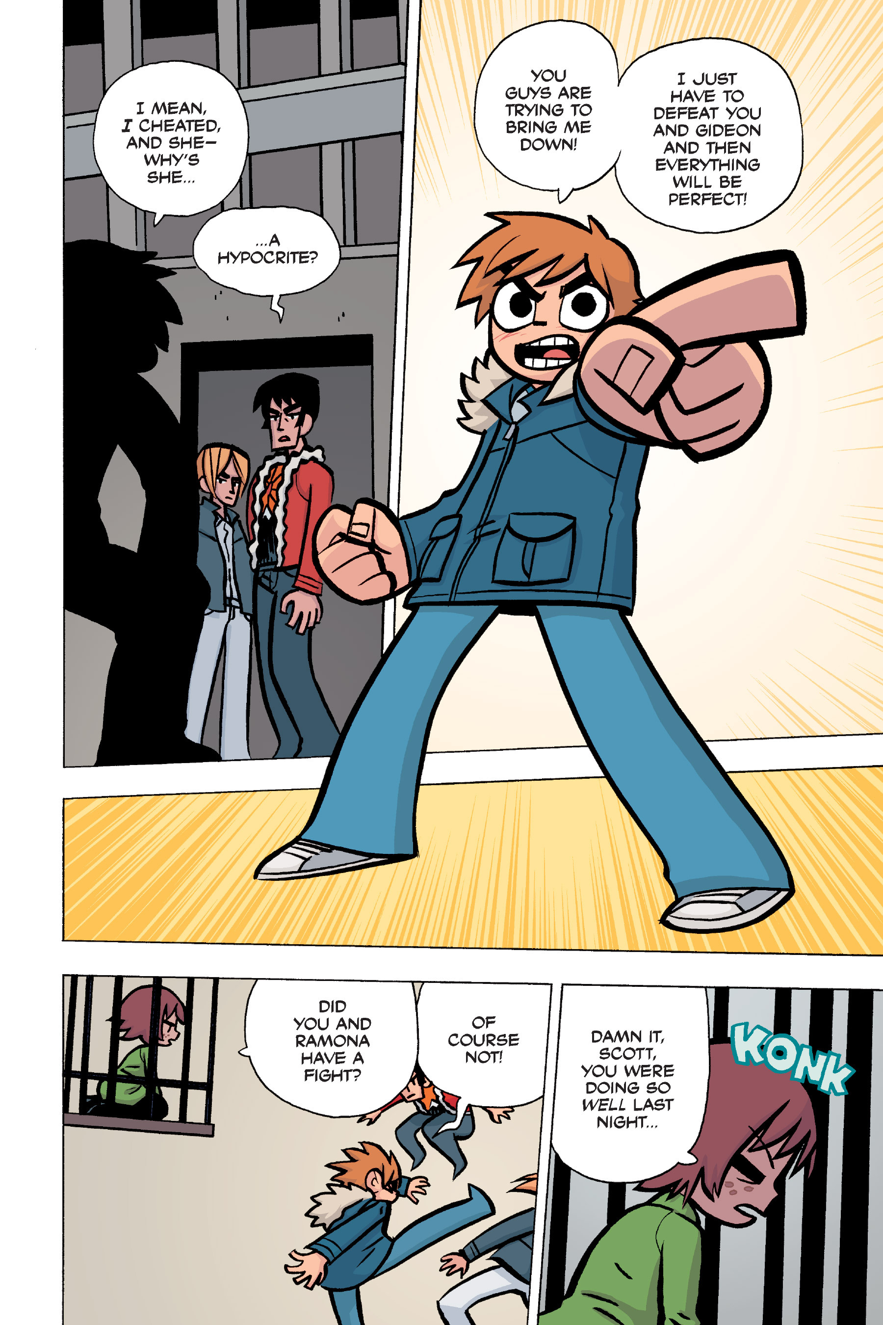 Read online Scott Pilgrim comic -  Issue #5 - 122