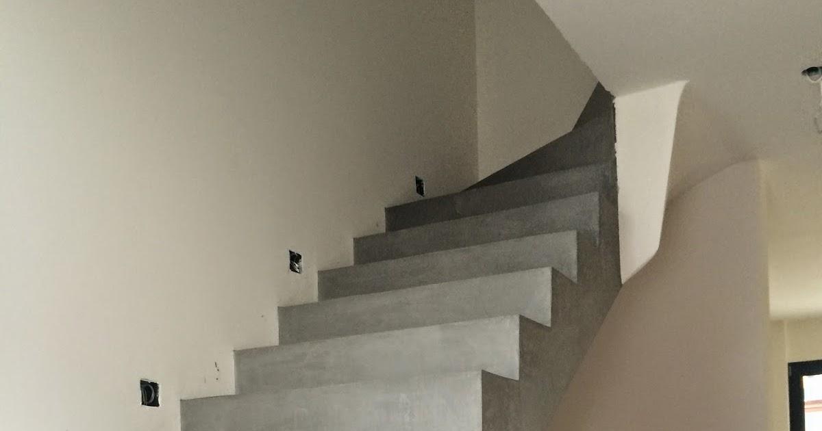 beton cire oberfl chen in beton look betontreppe beschichten beschichtung in betonoptik mit. Black Bedroom Furniture Sets. Home Design Ideas