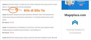 Download Contoh Skripsi Pendidikan Pgsd Lengkap File Pdf Sekali