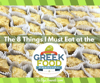 The 8 Things I Must Eat At The Greek Food Festival Tie Dye