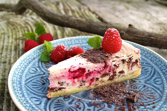 Schoko-HImbeer-Cheesecake