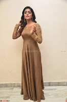 Eesha looks super cute in Beig Anarkali Dress at Maya Mall pre release function ~ Celebrities Exclusive Galleries 043.JPG