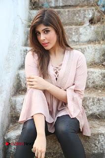 Telugu Actress Aditi Singh Stills in Leather Pants at Nenu Kidnap Iyanu Movie Press Meet  0112.JPG