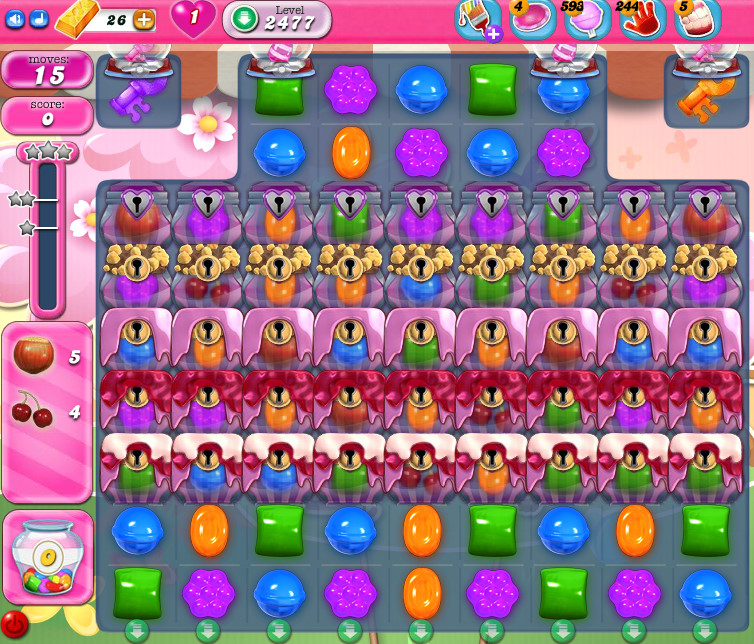 Candy Crush Saga level 2477
