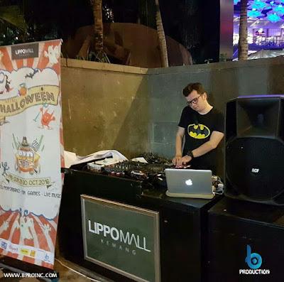 DJ Performance, Dj Abe @diskodirumah, Kemang BBQ Party Chapter 8, Retro Halloween